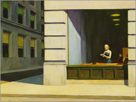 Edward Hopper - Büro in New York