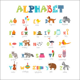Kidz Collection - Buntes Alphabet (Englisch)