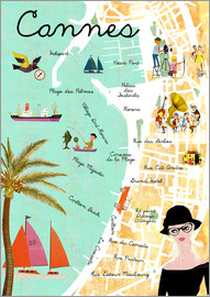 GreenNest - Cannes vintage Collage
