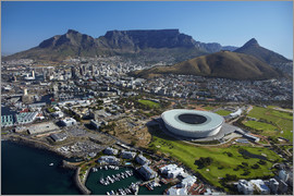 David Wall - Cape Town Stadium und der Tafelberg