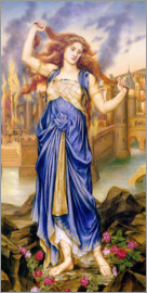Evelyn De Morgan - Cassandra, 1898