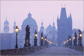 age fotostock - Charles Bridge at dawn