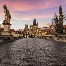 Mike Clegg Photography - Charles Bridge, Prague at sunrise