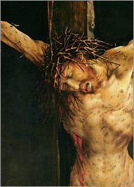 Matthias Grünewald - Christ on the Cross, detail from the central Crucifixion panel of the Isenheim Altarpiece, c.1512-15