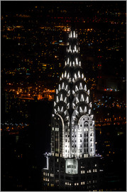 Michael Haußmann - Chrysler Building New York City by Night