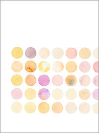 Verbrugge Watercolor - Circles 'Quadrat