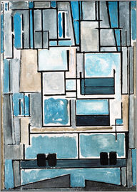 Piet Mondrian - Composition No. VI/ 1914