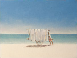 Lincoln Seligman - Cuba Beach Seller, 2010