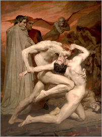 William Adolphe Bouguereau - Dante and Virgile