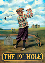 Peter Green's Pub Signs Collection - 27107 The 19th Hole