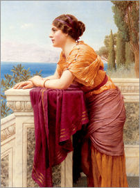 John William Godward - Das Belvedere