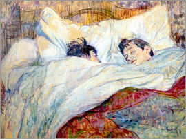 Henri de Toulouse-Lautrec - The Bed