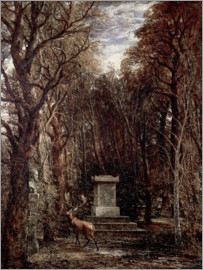 John Constable - The Cenotaph to Reynold's Memory
