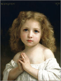 William Adolphe Bouguereau - Das Gebet