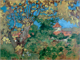 Pierre Bonnard - Das Haus in Grand-Lemps