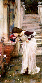 John William Waterhouse - Das Heiligtum