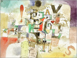 Paul Klee - The Lettered Piano