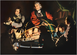 Joseph Wright of Derby - Das Modell des Sonnensystems
