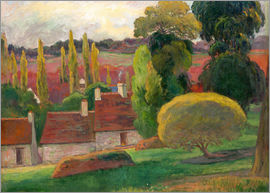 Paul Gauguin - David Mühle in Pont Aven