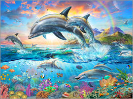 Adrian Chesterman - Dolphin Family