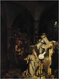 Joseph Wright of Derby - Der Alchimist