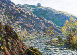 Claude Monet - the old tree at the confluence