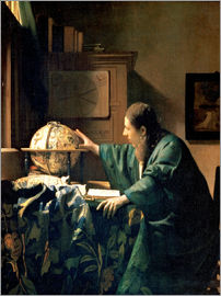 Jan Vermeer - The Astronomer
