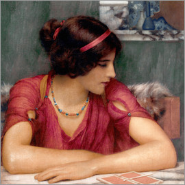 John William Godward - Der Brief