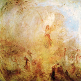 Joseph Mallord William Turner - Der Engel vor der Sonne. 1846