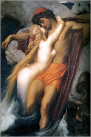 Frederic Leighton - The Fisherman and the Syren