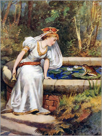 William Henry Margetson - Der Froschkönig