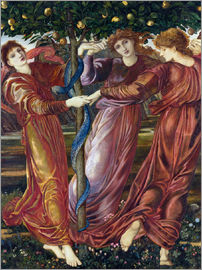 Edward Burne-Jones - Der Garten der Hesperiden