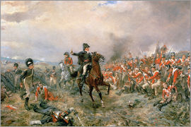 Robert Alexander Hillingford - Der Herzog von Wellington in Waterloo
