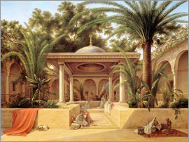 Grigory Tchernezov - Der Kabanija-Brunnen in Kairo