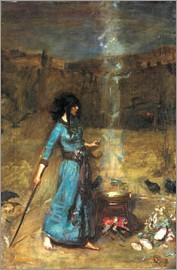 John William Waterhouse - Der magische Zirkel