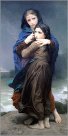 William Adolphe Bouguereau - Der Sturm