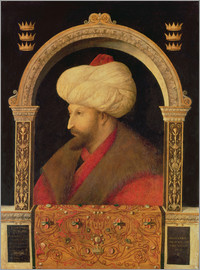 Gentile Bellini - The Sultan Mehmet II