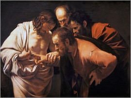 Michelangelo Merisi (Caravaggio) - The Doubting Thomas