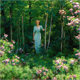 Charles Courtney Curran - Der Waldrand