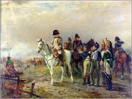 Robert Alexander Hillingford - The Turning Point at Waterloo