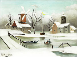 Henri Rousseau - Der Winter