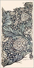William Morris - Design for Avon Chintz, c.1886