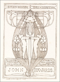 Margaret MacDonald Mackintosh - Design für ein Buch