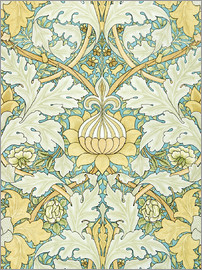 William Morris - Design mit Blumen