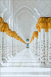 Detail of Sheikh Zayed Mosque