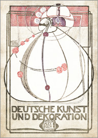 Margaret MacDonald Mackintosh - Deutsche Kunst und Dekoration