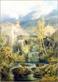 Joseph Mallord William Turner - Die alte Mühle, Ambleside