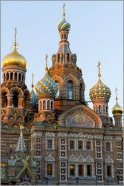 Miles Ertman - The Church on the Spilled Blood, UNESCO World Heritage Site, St. Petersburg, Russia, Europe