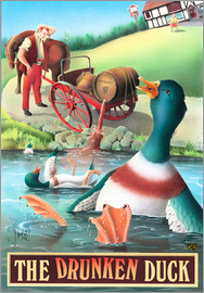 Peter Green's Pub Signs Collection - The Drunken Duck