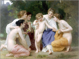 William Adolphe Bouguereau - Die Bewunderung